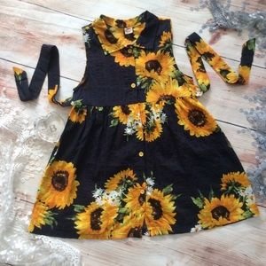 Other - Boutique Girls Sunflower Dress